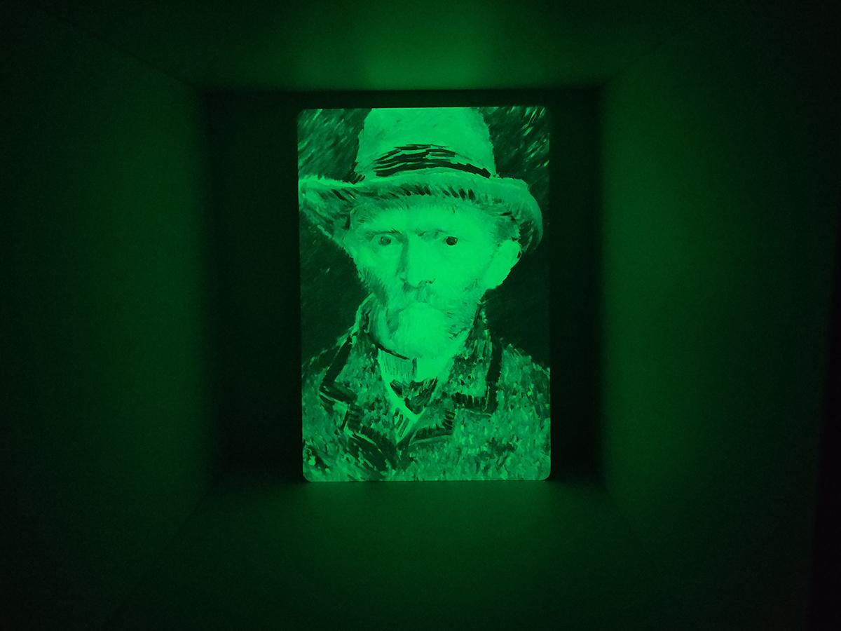 Vincent van Gogh Glow in the Dark